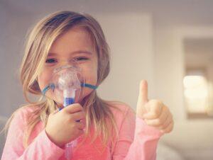 come fare aerosol ai bambini