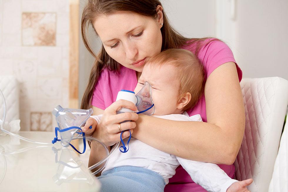 trucchi per fare aerosol ai bambini